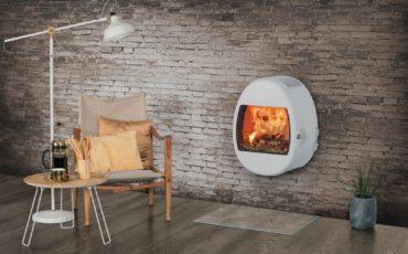 Scan 66-serien kommer i flere farger, og kan henges rett på veggen eller stå på sokkel.