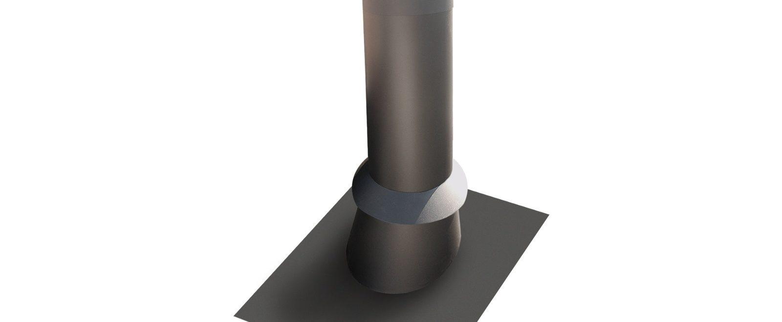 Jøtul stålpipe rund pipehatt