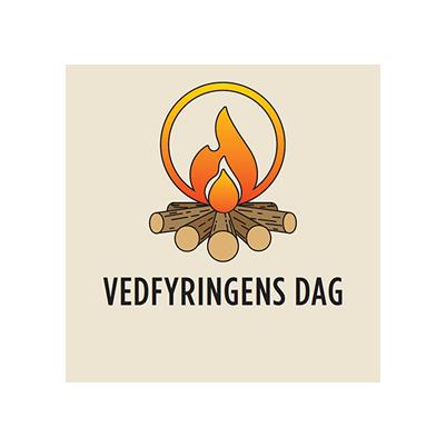 Vedfyringens dag logo. Foto.